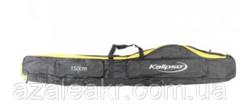 Чохол Kalipso для вудилищ 1,5/2 відділ ч/ж, фото 2