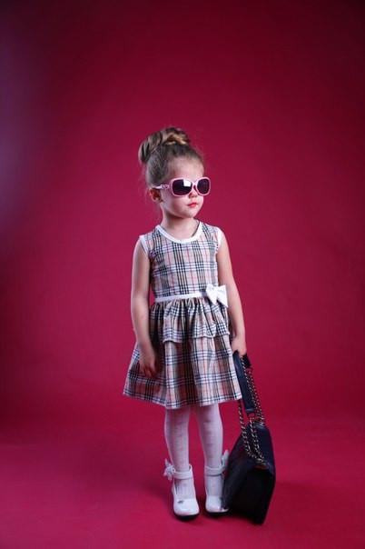 Модные платья на девочек!