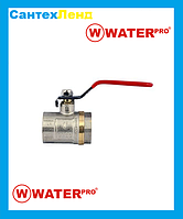 Кран Шаровой 1 Water Pro DN 25 PN 20 ГГР
