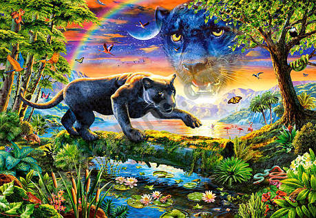Пазлы Пантера в сумерках 1500 Элементов, фото 2