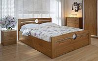 Деревянная кровать Авила с механизмом 140х190 см ТМ Meblikoff