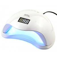 Лампа для маникюра гибридная LED+UV Lamp SUN 5 48W. Лампа для полимеризации,сушки ногтей.