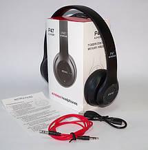 Наушники беспроводные  P47 .Bluetooth наушники накладные., фото 3