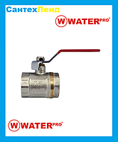 Кран Кульовий 1-1/2 Water Pro DN 40 PN 20 ГГР