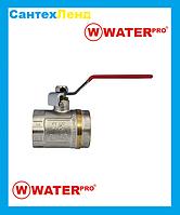 Кран Шаровой 1-1/2 Water Pro DN 40 PN 20 ГГР