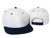 Бейсболка с прямым синим козырьком Snapbacks Original