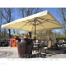 Зонт XXXXXL квадратный 5 метр. Польша