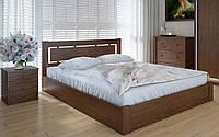 Деревянная кровать Осака с механизмом 140х190 см ТМ Meblikoff