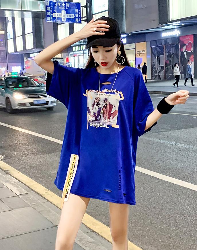 Объемная женская футболка на лето (в расцветках)