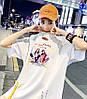 Объемная женская футболка на лето (в расцветках), фото 5
