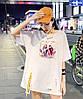 Объемная женская футболка на лето (в расцветках), фото 7