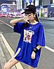 Объемная женская футболка на лето (в расцветках), фото 2