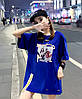 Объемная женская футболка на лето (в расцветках), фото 6