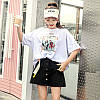 Объемная женская футболка на лето (в расцветках), фото 3
