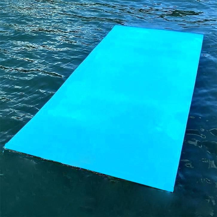 Мат для отдыха на воде из ЭВА (коврик, платформа для воды) EVA-LINE