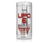 Жиросжигатель Nutrex Lipo-6 Unlimited, 120 caps , фото 1