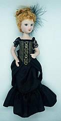 Кукла фарфоровая Дамы эпохи (DeAgostini) Изабелла Арчер (Генри Джеймс Женский портрет)