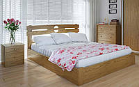 Деревянная кровать Кантри плюс с механизмом 120х200 см ТМ Meblikoff