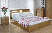 Деревянная кровать Кантри плюс с механизмом 140х190 см ТМ Meblikoff