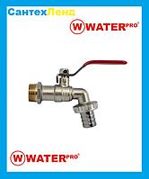 Кран Кульовий Водорозбірної 3/4 Water Pro DN 20 PN 20