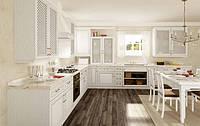 Кухонная мебель, кухни на заказ из массива ясеня