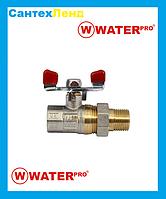 Кран Американка Прямой 1/2 Water Pro DN 15 PN 20, фото 1