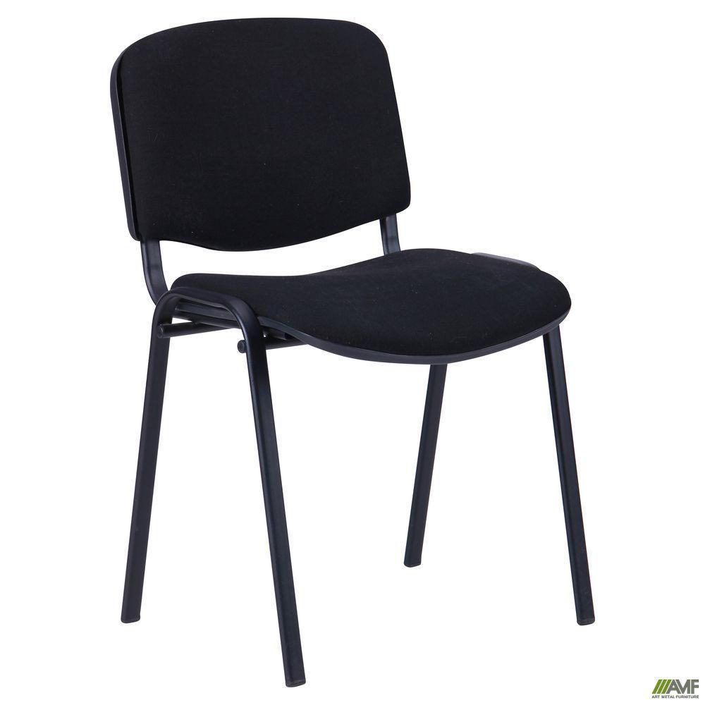 Офисный стул АМФ Изо черный А-01