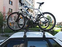 Багажник велосипедный- крепление на крышу Amos на 1 велосипед выдвижная рама, 2 крепления