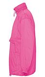 Ветровка SOL'S,  розовая водонепроницаемая ветровка, фото 2