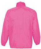 Ветровка SOL'S,  розовая водонепроницаемая ветровка, фото 3