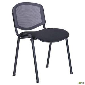 Стілець Ізо Веб чорний сидіння А-1/спинка Сітка сіра