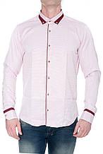 Мужские рубашки с длинным рукавом Gelix 1281006 розовые