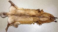Лиса натуральная св.рыжая 110 см, фото 1
