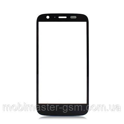 Корпусное стекло на Motorola XT1033 Moto G черное, фото 2