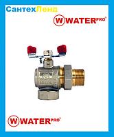 Кран Американка Угловой 1/2 Water Pro DN 15 PN 20