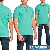 Мятное мужское поло LC Waikiki / ЛС Вайкики XL