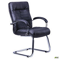 Кресло Орион CF хром Кожа Сплит черная