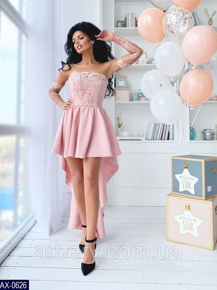 459541b4f47 Шикарное каскадное платье с кружевом и вышивкой - ARBERY в Одессе