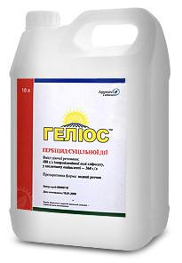 Гербицид Гелиос (Раундап) д.в. изопропиламинная соль глифосата 480 г/л.