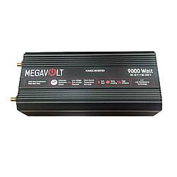 Перетворювач напруги 12v-220v 9000W LED екран MEGAVOLT
