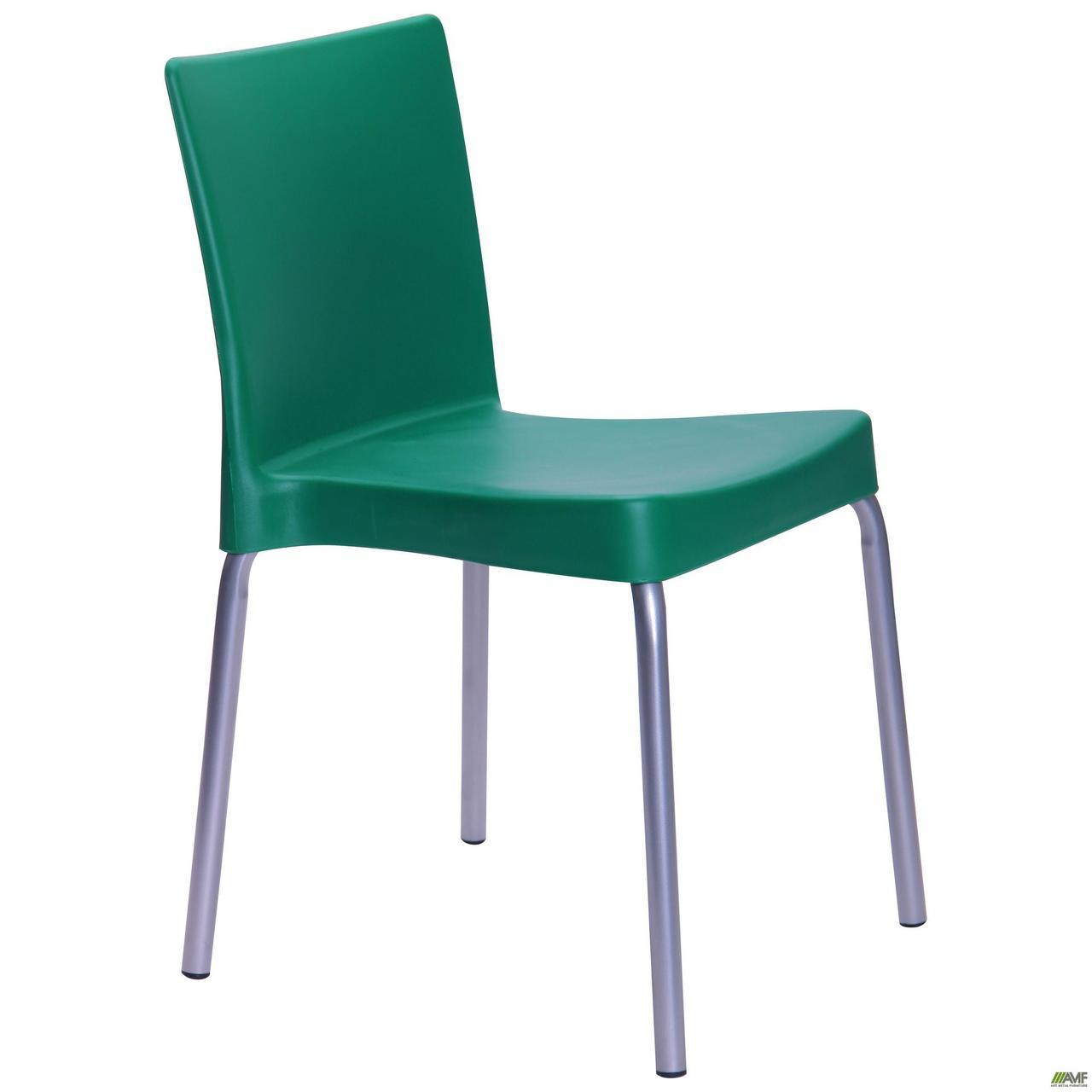 Стул Корсика алюм пластик зеленый