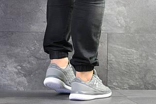 Легкие мужские кроссовки серые, фото 2