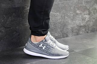 Легкие мужские кроссовки серые, фото 3