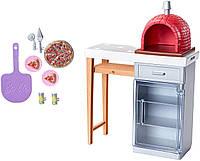 Игровой набор Барби Печь для пиццы Barbie Pizza Oven Playset FXG39