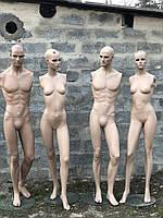 Манекены оптом  б/у в полный рост без рук с макияжем