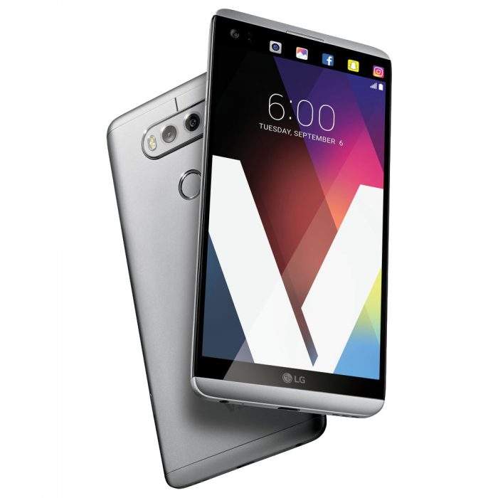 Смартфон LG H990 V20 Dual 64GB (Silver)