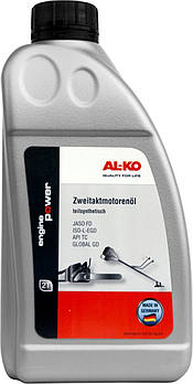 Масло полусинтетическое AL-KO, 2-тактное, 1,0 л