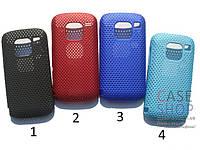 Пластиковый чехол в сеточку для Nokia E5