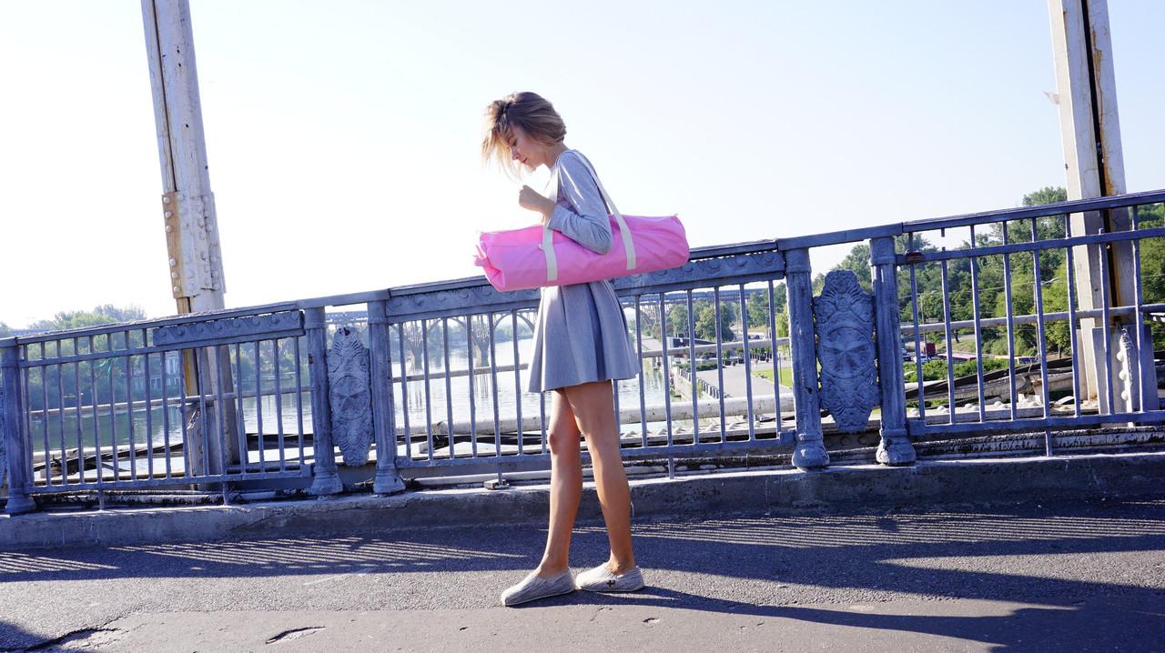 Сумка-чехол для коврика для йоги Foyo Pink