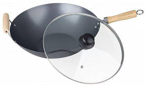 Сковорода глибока EDENBERG EB 3342 30 см 4 л WOK з кришкою